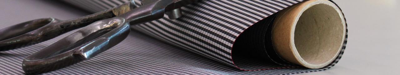 stoffa fil a fil e forbici